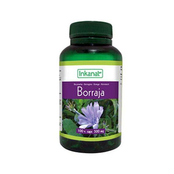 Aceite de Borraja en Cápsulas (100 perlas - 500mg)