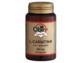L-Carnitina en cápsulas (90x450mg)