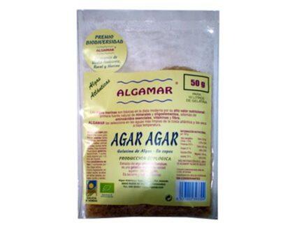 Agar agar BIO (Gelidium sesquipedale), 50gr