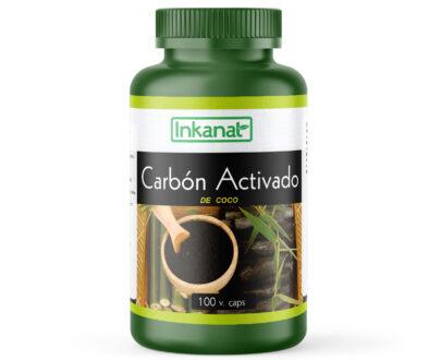 Carbon activado en capsulas