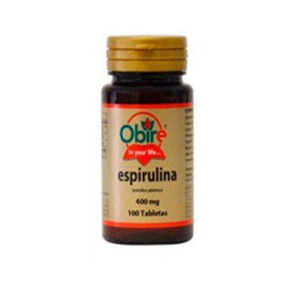 Espirulina (100 tabletas - 400mg)