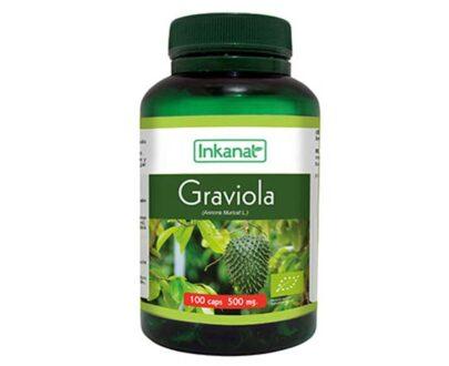 Graviola en cápsulas INKANAT(100x500mg)