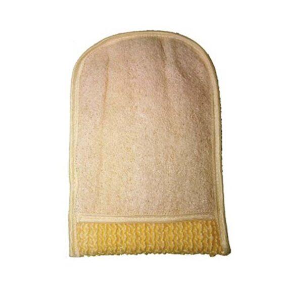 Gant de loofah
