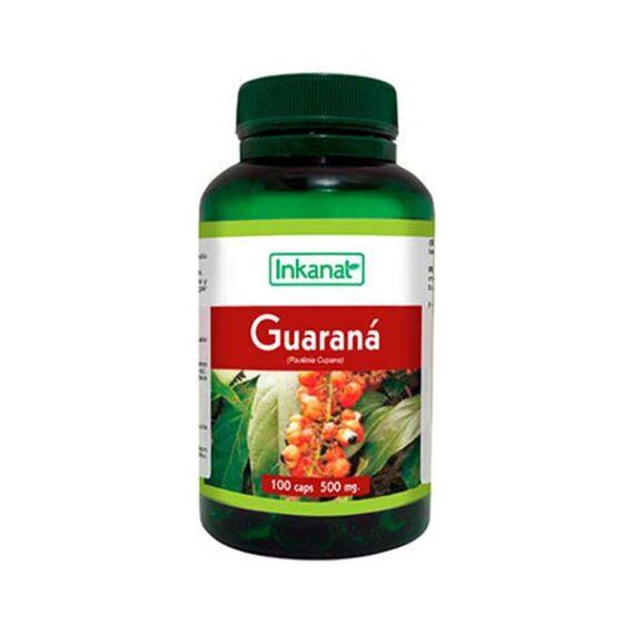 Guaraná en cápsulas INKANAT (100cáps. - 500mg)