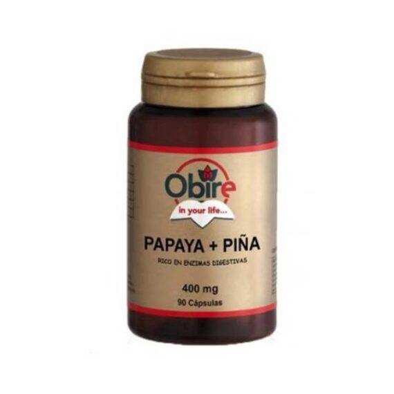 Papaya y Piña, 90 cápsulas 400 mg PROMO