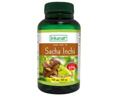 Aceite de Sacha Inchi en cápsulas 100x500mg