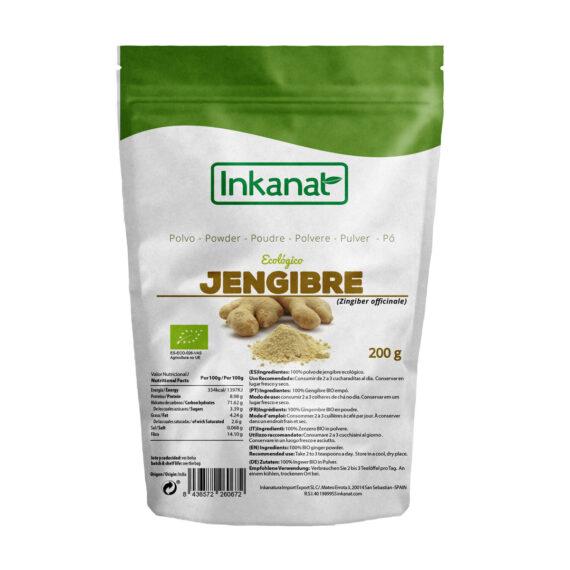 Jengibre en polvo orgánico 200g